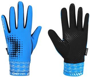 Force Extra 17 Full Gloves Blue Black XXL