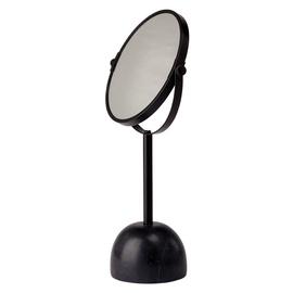 Зеркало Aquanova Yana 2x Magnifying Black, напольный, 19.5x37 см