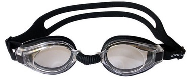 Crowell Swimming Goggles 9811 Black Transparent