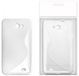 KLT Back Case S-Line Nokia 510 Lumia Silicone/Plastic White/Transparent