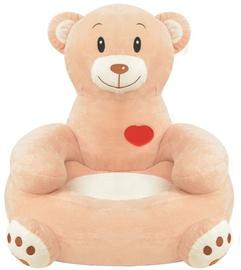 Bērnu krēsls VLX Plush Childrens Chair 80161, brūna, 460 mm x 500 mm