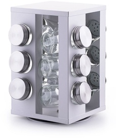 DecoKing Harper Spice Rack White 12pcs