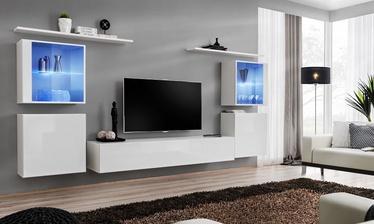 Dzīvojamās istabas mēbeļu komplekts ASM Switch XIV, balta