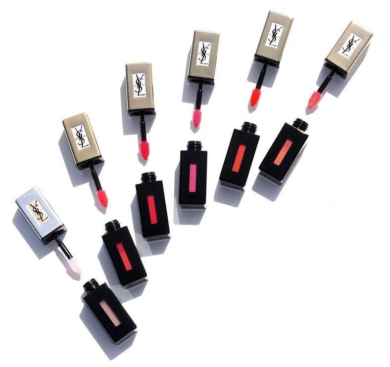 Блеск для губ Yves Saint Laurent Rouge Pur Couture Glossy Stain Pop Water 204, 6 мл