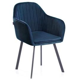 Ēdamistabas krēsls Homede, zila, 2 gab.
