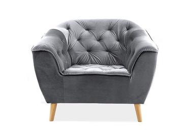 Atzveltnes krēsls Signal Meble Galaxy Grey, 105x90x83 cm