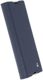 Krusell Malmo 4 Card Folio Case For Sony Xperia XA1 Blue