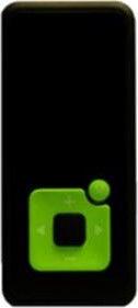 Mūzikas atskaņotājs Sponge Melody Green, 8 GB