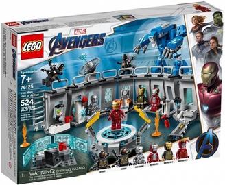 Конструктор Lego Marvel Avengers Iron Man Hall Of Armor 76125