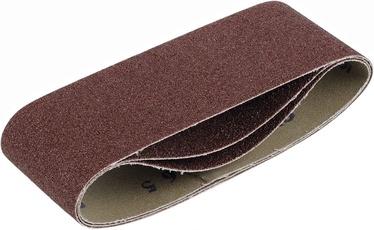 Slīpēšanas lente Kreator KRT243003, G40, 100x610 mm, 3 gab.