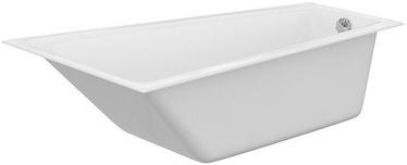 Cersanit Crea Bath 160x100cm Right White