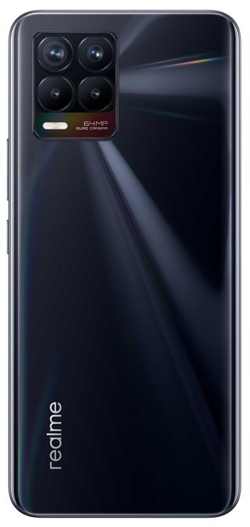 Mobilais telefons Realme 8, melna, 6GB/128GB