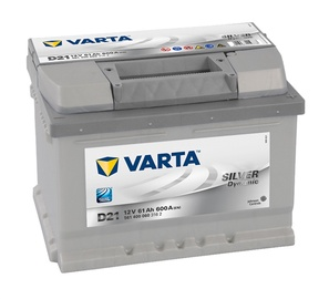 Akumulators Varta SD D21, 61 Ah, 600 A, 12 V