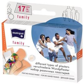 Пластырь Matopat Family Plaster 17pcs