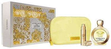 Versace Eros Pour Femme 100ml EDT + 10ml EDT + Cosmetic Bag