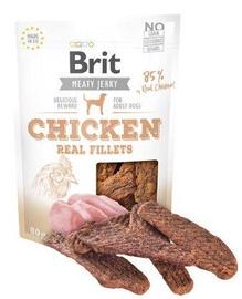 Brit Jerky Chicken Real Fillets delikatese 80g