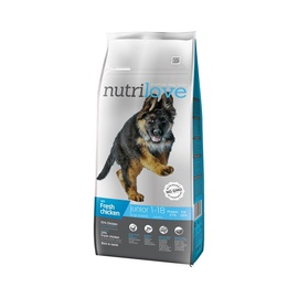 Nutrilove Complete Dry Food Puppy & Junior Large Breed Chicken 12kg