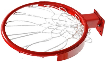 Обруч с сеткой Domeks Basketball Rim Red
