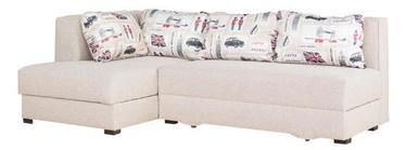 Stūra dīvāns Bodzio Judyta Noble Latte/London 1, kreisais, 225 x 155 x 77 cm