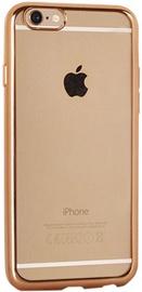 Telone Super Thin Silicone Back Case For HTC Desire 620 Transparent/Gold