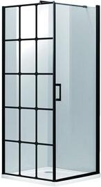 Dušas kabīne Vento Palermo, kvadrātveida, bez paliktņa, 900x900x1950 mm