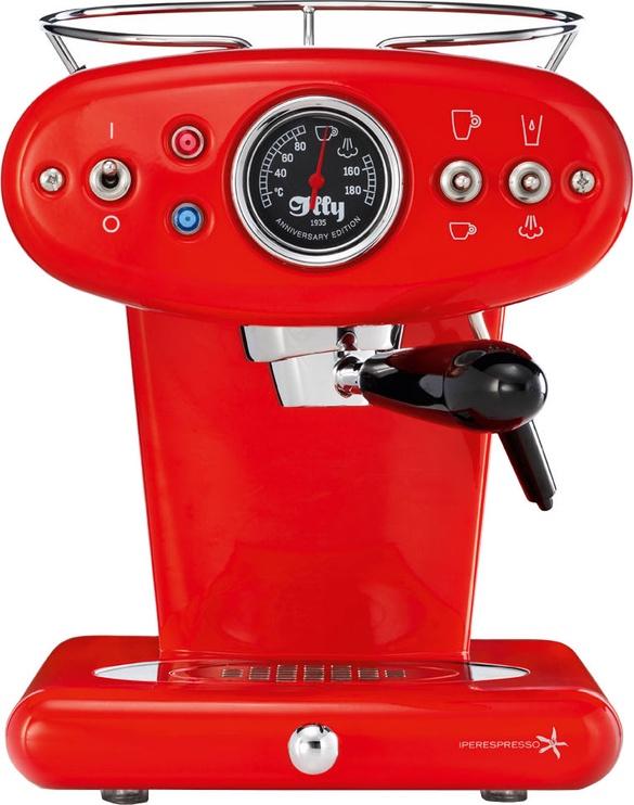 Kapsulas kafijas automāts Illy X1 Anniversary, sarkana