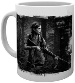 The Last of Us Part II Black and White Cup