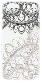 Blun Art Design 11 Back Case For Samsung Galaxy J5 J500F Transparent/Grey