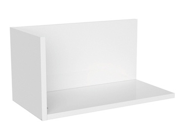 Black Red White Priceton Wall Shelf 50cm White