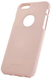 Mercury Soft Surface Back Case For Samsung Galaxy J7 J730F Pink Sand