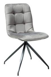 Ēdamistabas krēsls Signal Meble Texo Gray, 1 gab.