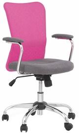Bērnu krēsls Halmar Andy Grey/Pink