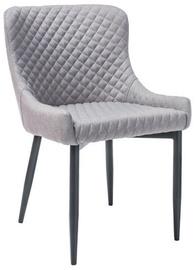 Ēdamistabas krēsls Signal Meble Colin B, melna/pelēka