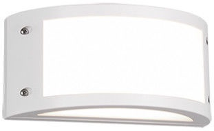 Trio Kendal matēts balts sienas LED gaismeklis, IP54, 12W, 1200lm, 3000K