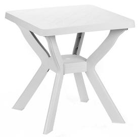 Dārza galds Diana Reno White, 70 x 70 x 72 cm