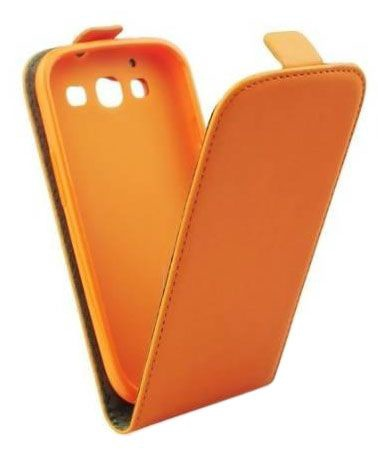 Forcell Flexi Slim Flip for Apple iPhone 6 Orange