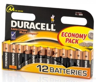 Duracell Plus Power AA Batteries 12pcs