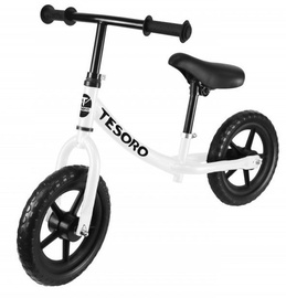 Tesoro PL-8 Balance Bike White Matt