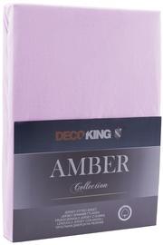 DecoKing Amber Bedsheet 80-90x200 Lilac