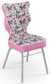 Bērnu krēsls Entelo Solo Size 3 ST31 Pink/Butterflies, 330x310x695 mm