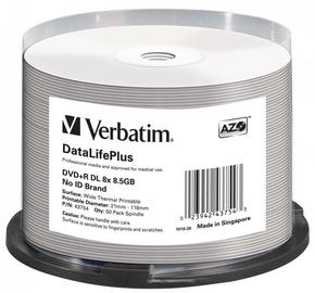 Verbatim 50x 8.5GB DVD+R 8x 43754