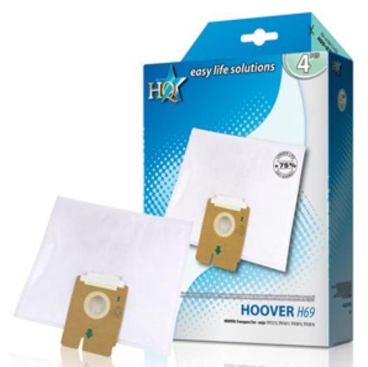 HQ Vacuum Cleaner Bags for Hoover 4pcs