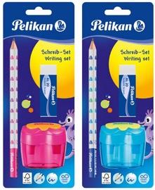 Pelikan стартовый набор простых карандашей, синий или розовый