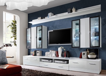 ASM Iceland Living Room Wall Unit Set White