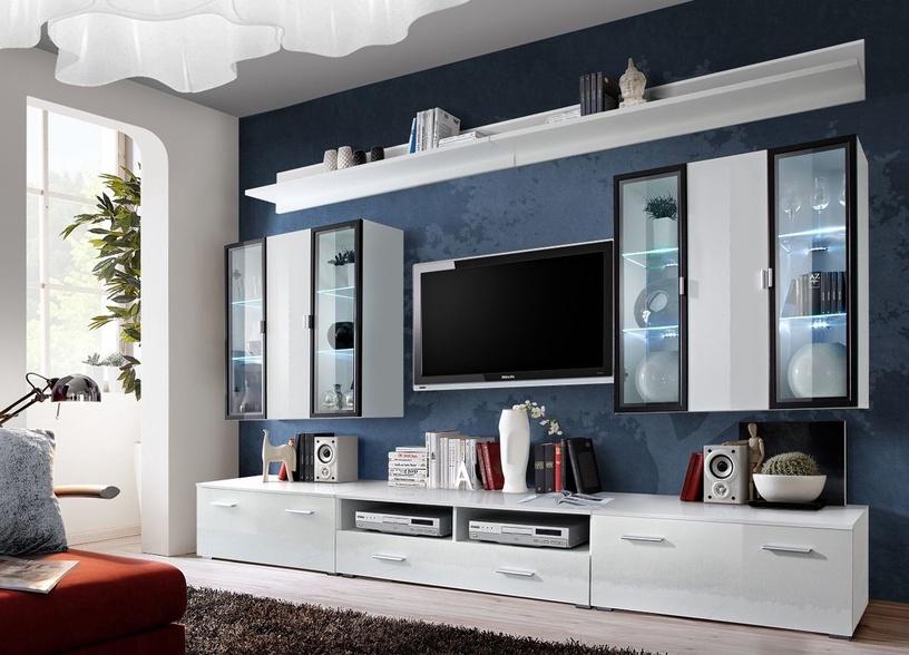 ASM Iceland Living Room Wall Unit Set White