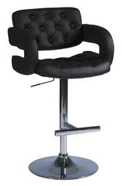 Bāra krēsls Signal Meble C141 Black, 1 gab.