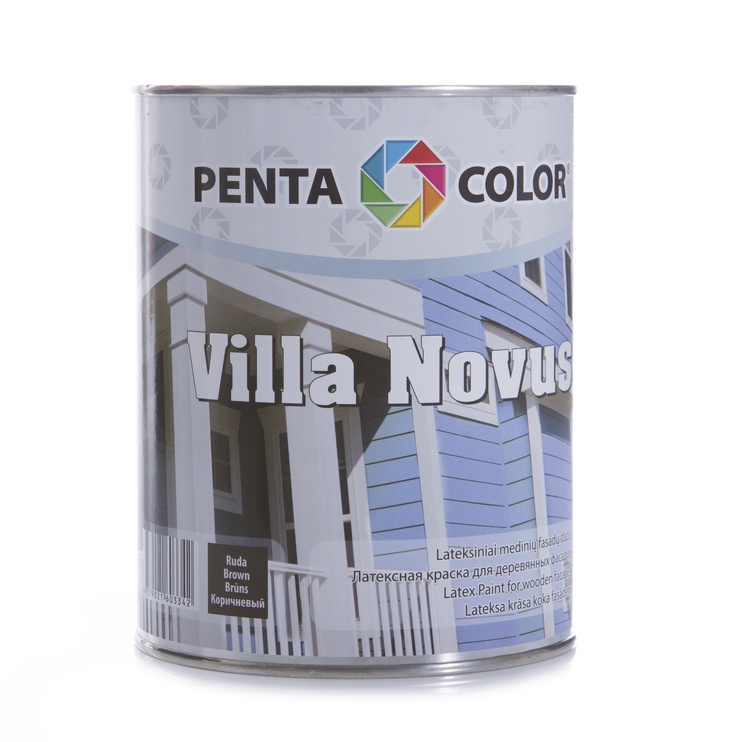 Pentacolor Villa Novus Emulsion Paint Brown 1l