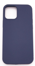 Evelatus Silicone Back Case With Bottom For Apple iPhone 12 Pro Max Blue