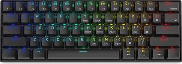 Клавиатура Krux Neo Pro RGB Wireless Gateron EN, черный, беспроводная