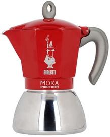 Kafijas kanna Bialetti Moka Induction Coffee Maker Red 2 Cups